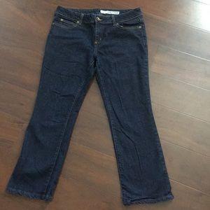Women DKNY petites size 12p Boot Cut Jeans.